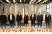 Şahin'den Gaziantep esnafına pandemi desteği