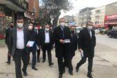 DEVA'da esnaf ziyaretleri sürüyor