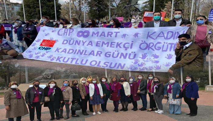 CHP Gaziantep Kadın Kolları: Biz Cumhuriyet Halk Partili Kadınlar olarak tarihe yön verenler olacağız