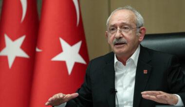 """Kılıçdaroğlu: Bir ülkeyi 19 yıl yönettikten sonra """"İnsan hakları eylem planı açıklıyorum"""" demek, insan haklarının olmadığını itiraf etmektir"""