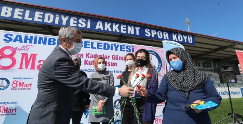 Şahinbey'den kadınlara özel etkinlik