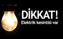 Gaziantep'te hangi mahallelerde elektrik kesintisi olacak?